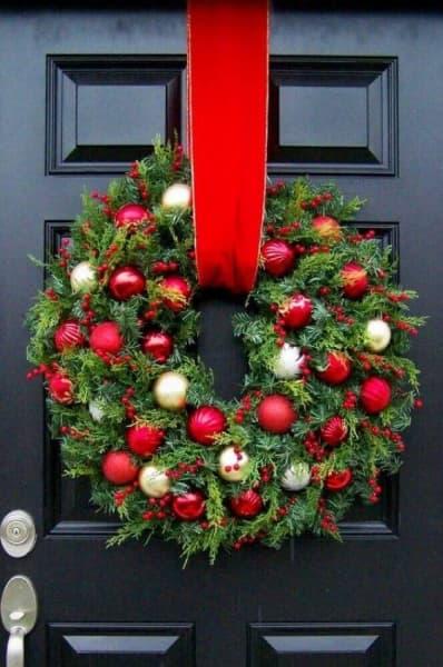 Os significados dos enfeites de Natal guirlanda