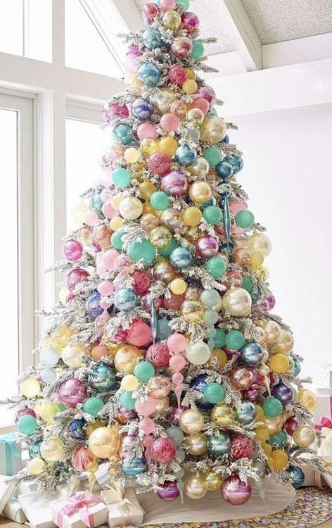 arvore de natal decorada a venda
