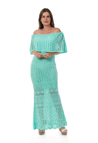 vestido para natal longo de tricô 4