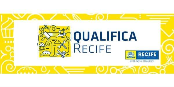 qualifica Recife logo da prefeitura