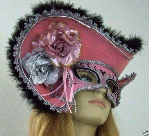 Modelos de máscara de Carnaval de pirata