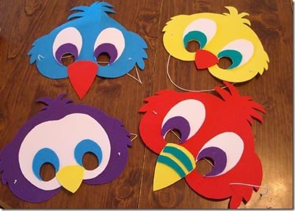 Modelos de máscara de Carnaval infantil