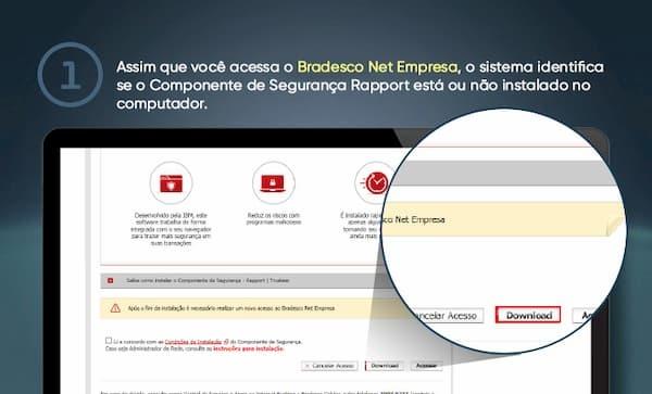 Bradesco Net Empresa praticidadede dawnload