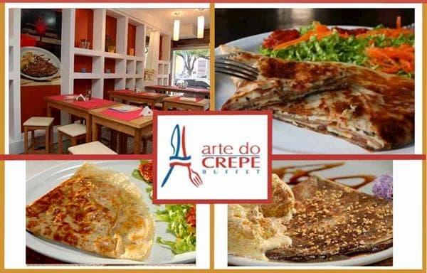Dicas de Restaurantes em Belo Horizonte Arte do Crepe