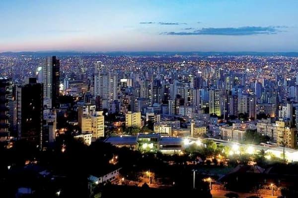 Dicas de Restaurantes em Belo Horizonte cidade vista aerea