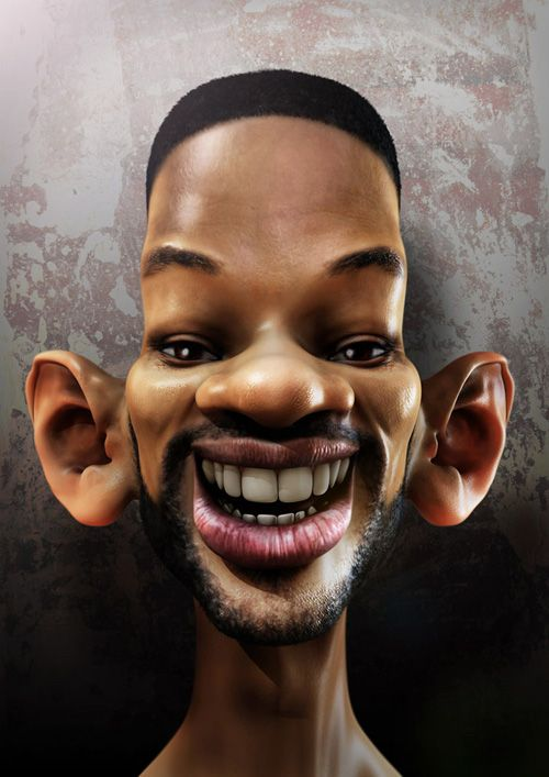 Caricatura do Will Smith