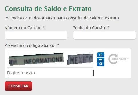 consulta de saldo e extrato brasilcard