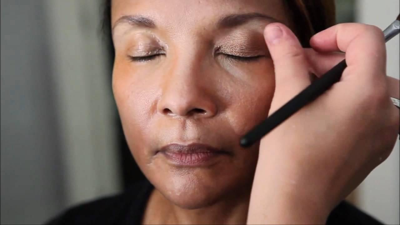 maquiagem de senhoras no olho