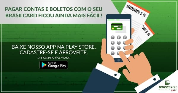 pagar boletos app brasilcard