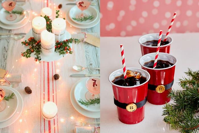 enfeites de decoracao de natal para mesa