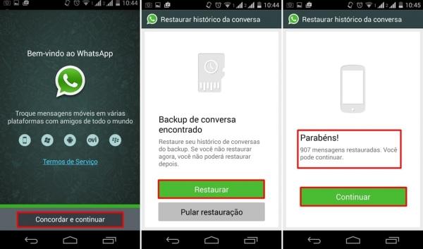 Como recuperar mensagens apagadas do WhatsApp