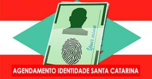 Agendamento RG - Santa Catarina