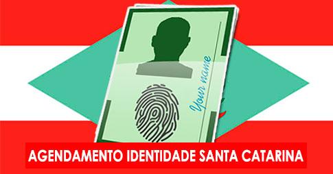 Agendamento RG – Santa Catarina