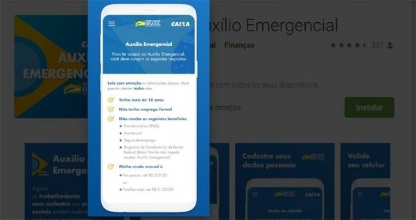 app caixa auxilio emergencial
