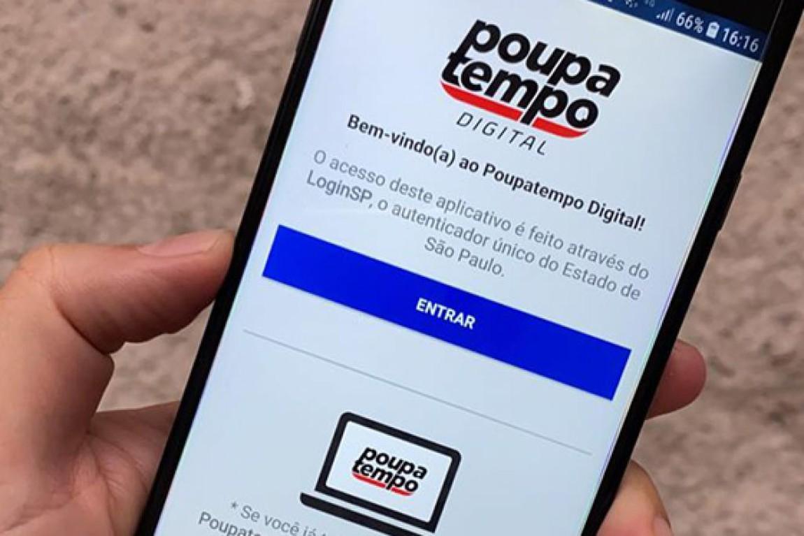 Governo de São Paulo Lança Aplicativo 'Poupatempo Digital'