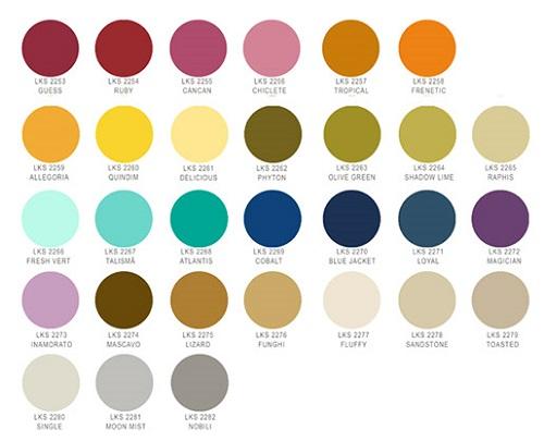 paleta de cores lukscolor