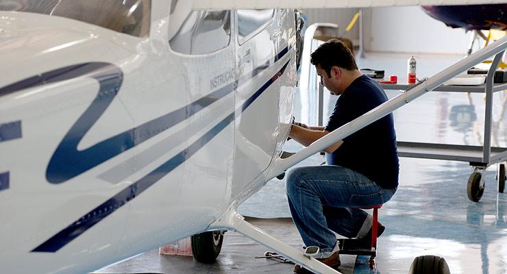 Curso Técnico em Manutenção de Aeronaves