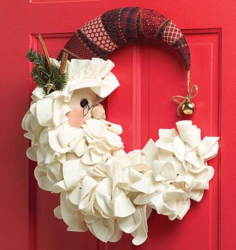 Decoração de Natal para a Porta