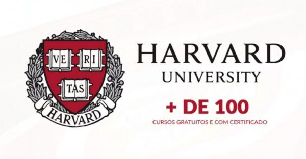 Mais de 100 cursos gratuitos na Universidade de Harvard dos Estados Unidos.