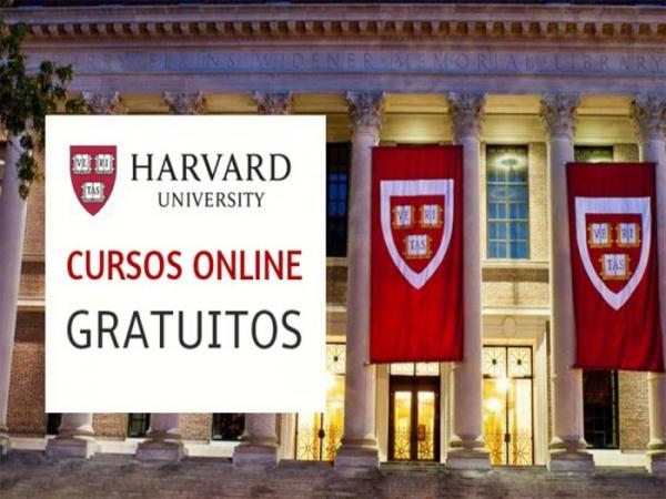 Cursos online e gratuitos na Universidade de Harvard dos Estados Unidos.