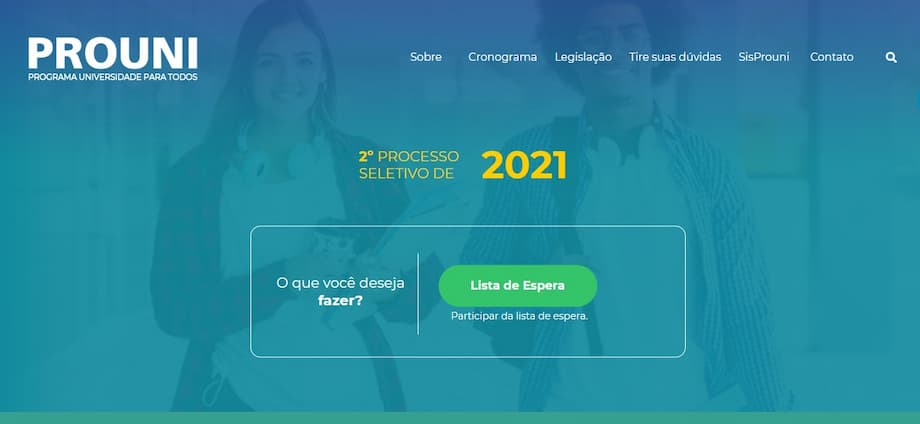 Prouni 2021 abre lista de espera para universidades privadas com bolsas de até 100%