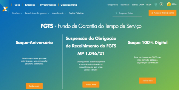 Veja como realizar o saque digital do FGTS