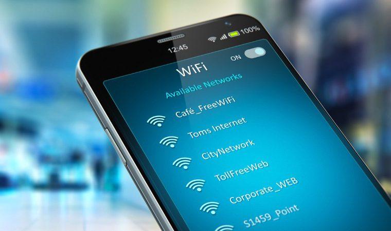encontrar rede wifi