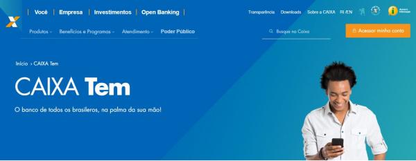 Será liberado até R$ 3 mil de empréstimo para usuários do Caixa TEM