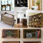 229507 varias opções de móveis com caixotes de madeira 150x150 Decoração Barata e Criativa para Ambientes