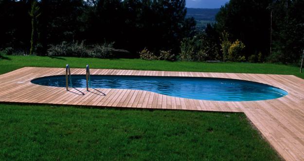 231822 ambiente ao ar livre com piscina Decoração De Piscinas, Fotos