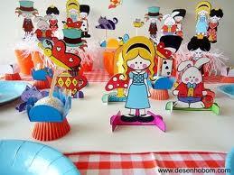 237058 decoração de aniversario alice no pais das maravilhas1 Decoração de Aniversário Alice no País das Maravilhas