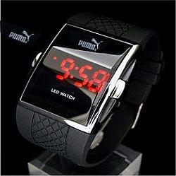 238249 Relógio LED Puma Original Preço 1  Relógio LED Puma Original Preço, onde Comprar