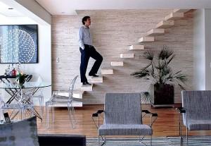 238356 Escada 1 300x207 Modelos de Escadas para Casas Pequenas, Dicas de Decoração