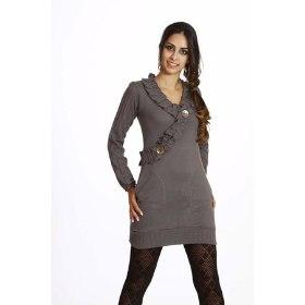 239105 vestido de lã com legging 3 Vestido de Lã com Legging