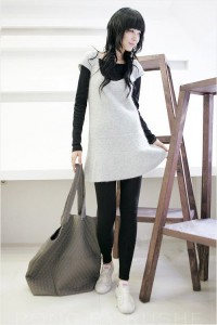 239105 vestido de lã com legging 6 200x300 Vestido de Lã com Legging