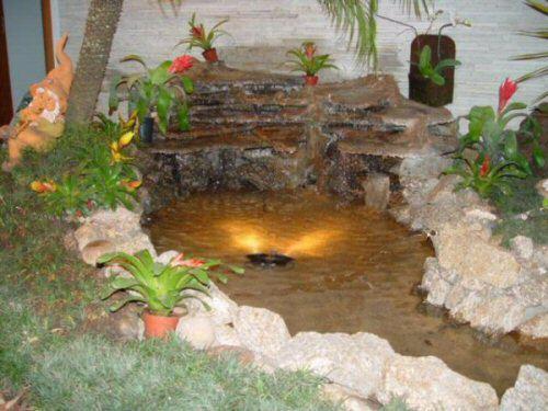 Como construir um lago artificial no jardim for Como construir un lago artificial