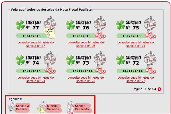 24108 Nota Fiscal Paulista adia liberação de créditos 333333333333333 sorteio Nota Fiscal Paulista: Cadastro, Consulta de Créditos, Sorteios