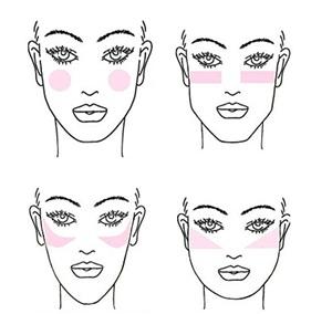 242863 Como usar o blush para afinar o rosto 1 Como Usar o Blush para Afinar o Rosto