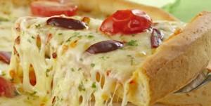 243573 pizza caseira1 300x151 Como Preparar Uma Pizza Caseira, Receita