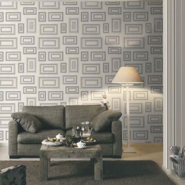 244014 papel de parede retangulo 600x600 Papel De Parede Para Decorar Salas Dicas