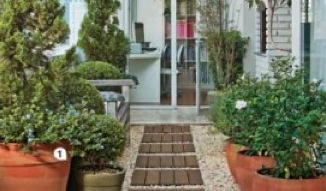 245484 decoração de terraço com plantas2 Plantas para Decorar Área Externa   Fotos