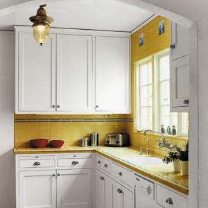 246445 cozinha pequena 4 Cores Para Cozinhas Pequenas