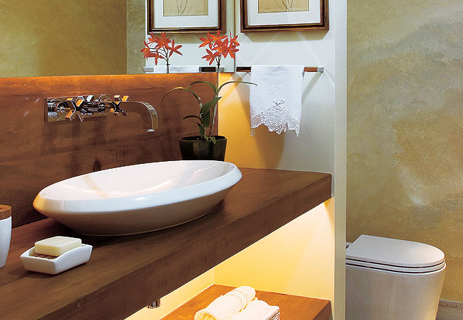 Bancadas para Banheiro em Madeira -> Cuba Para Banheiro De Madeira