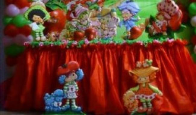 Decoração Com Tnt ~ Decoraç u00e3o De Festa Com TNT
