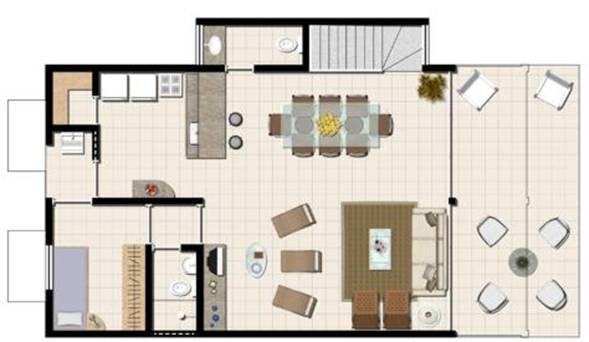 Plantas de casas modelos projetos planta baixa for Casas modernas para construir