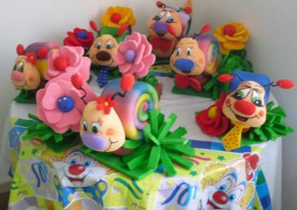 249014 decoração em espuma para festa infantil 8 Decoração Em Espuma Para Festa Infantil