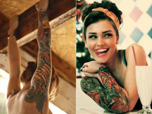 25914 Tatuagens Femininas Galeria com as melhores fotos 86 Tatuagens Femininas   Galeria com as melhores fotos