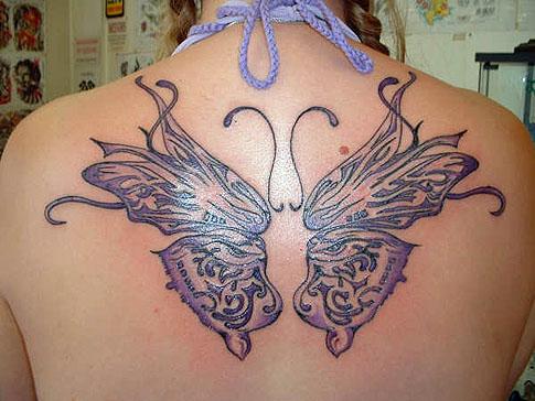 tatuagem feminina nas costas. 25914 tatuagem feminina 3 Tatuagens Femininas: Tatto confira uma Galeria com