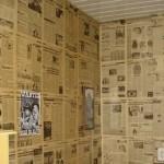 260460 parede decorada com jornal fotos 6 150x150 Parede Decorada Com Jornal, Fotos