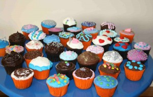 Fofura de bolinho: cupcakes e sua beleza atrativa